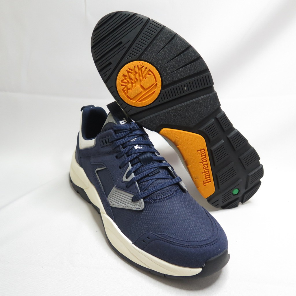 Timberland TREERACER TXTL SNK MD NVY 男款 休閒鞋 A22S3 深藍【iSport】