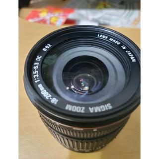 Sigma 18-200mm f3.5-6.3 for CANON 佳能 旅遊鏡 新北市