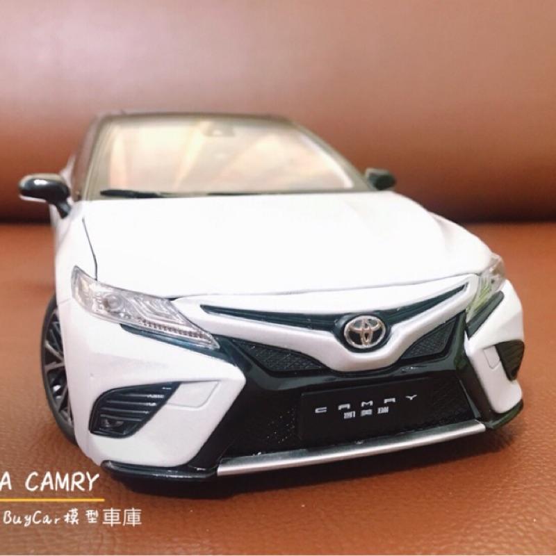 BuyCar模型車庫 1:18 TOYOTA CAMRY 8代 運動版模型車