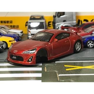Toyota 86 1/ 43 二手 零件車 豐田 跑車 原廠模型車 Subaru BRZ scion 1:43 和泰