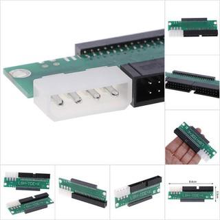 3.5 IDE公頭至2.5 IDE母頭44pin至40pin SATA轉換器適配器卡