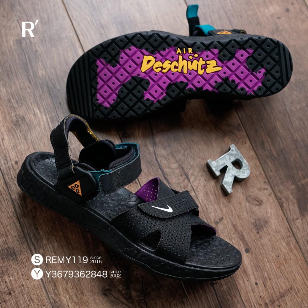 R'代購 Nike ACG Deschutz 黑黃紫綠 越野涼鞋 CT2890-003 男女