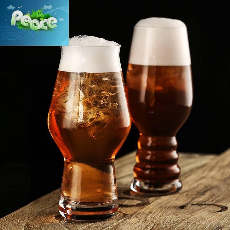 IPA啤酒杯 個性美式精釀啤酒杯 小麥啤酒杯創意啤酒杯 無鉛玻璃杯