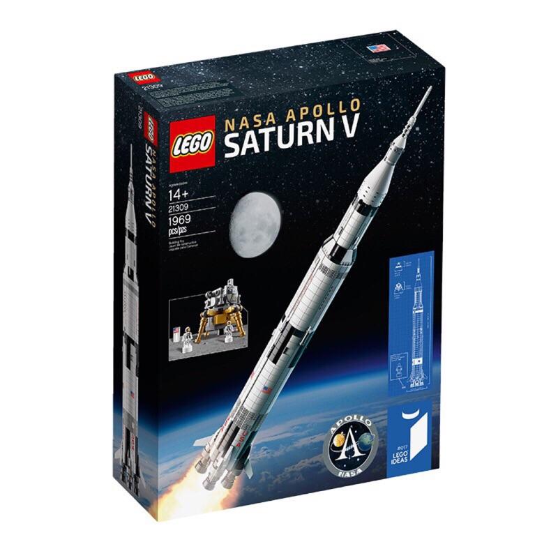 Lego 21309 NASA 神農五號 全新未拆