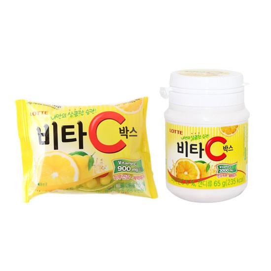 韓國 Lotte 樂天 檸檬糖 糖果 檸檬糖果