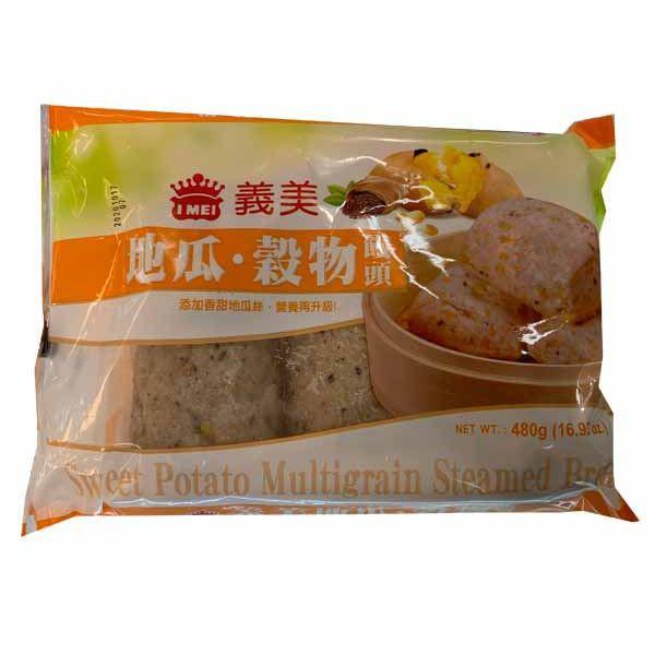 義美地瓜穀物饅頭480g