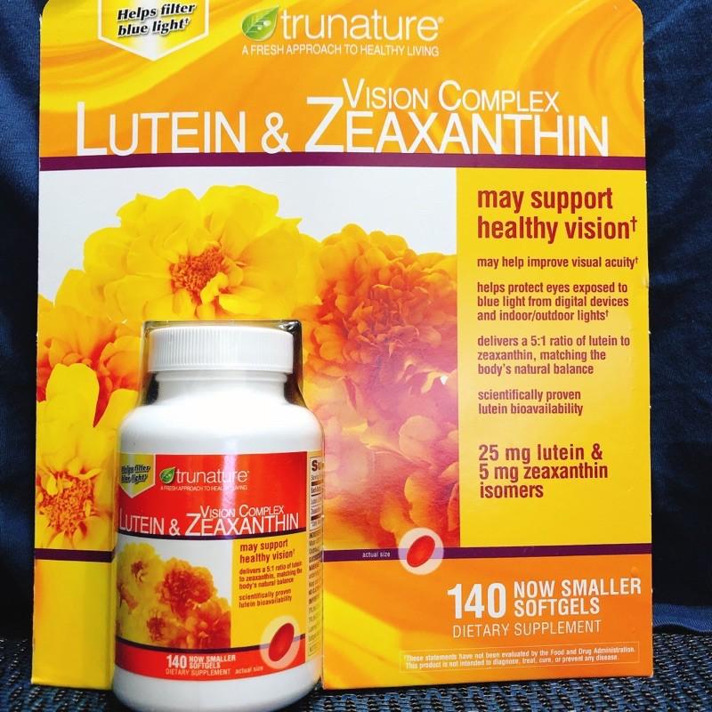 美國好市多costco Trunature Lutein & Zeaxanthin 葉黃素--現貨在台