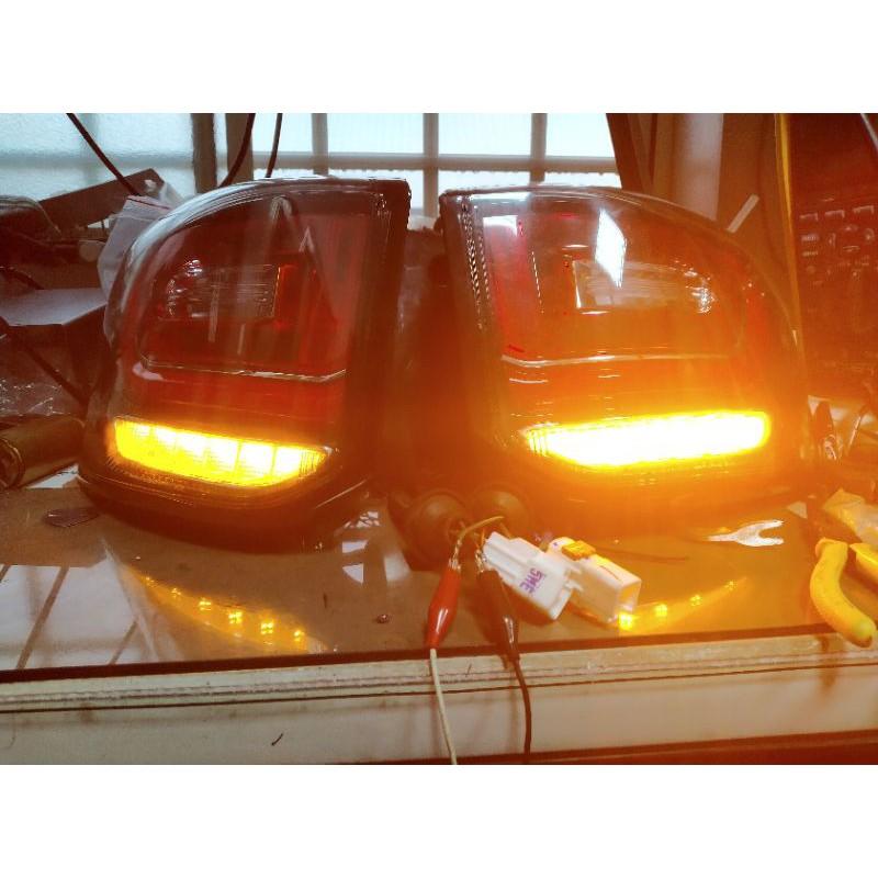 三菱OUTLANDER後尾燈不亮維修