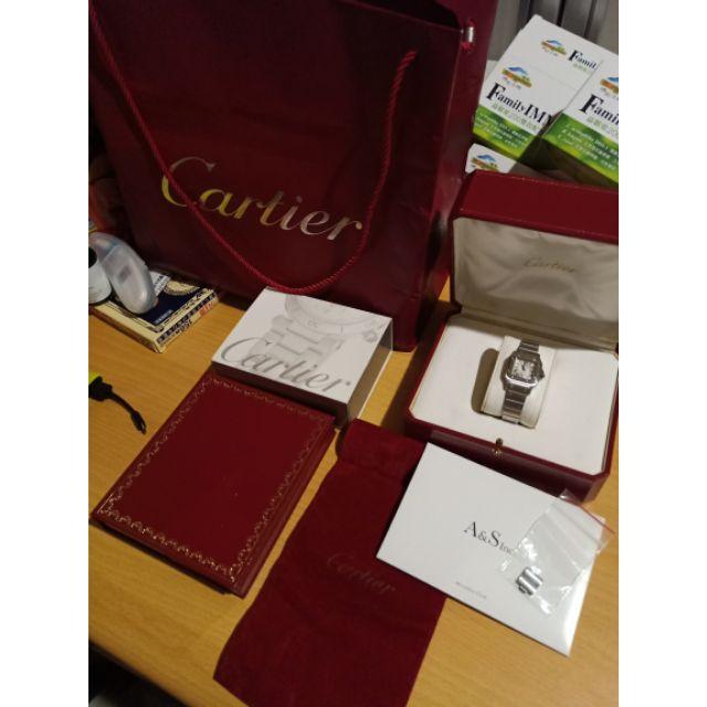 二手 卡地亞 Cartier santos 機械女錶