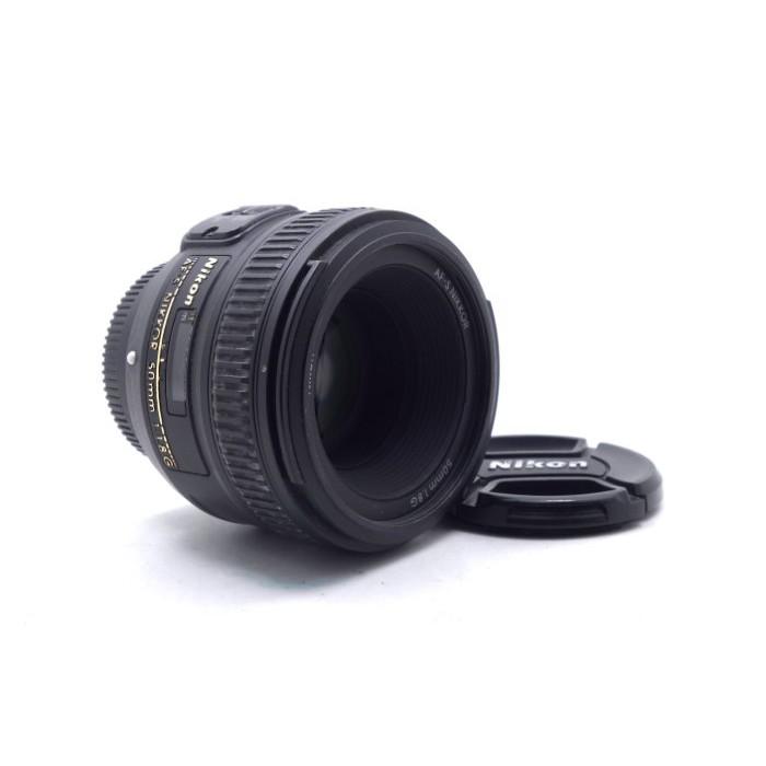 【台中青蘋果】Nikon AF-S 50mm f1.8 G 二手 定焦鏡 鏡頭 #54022