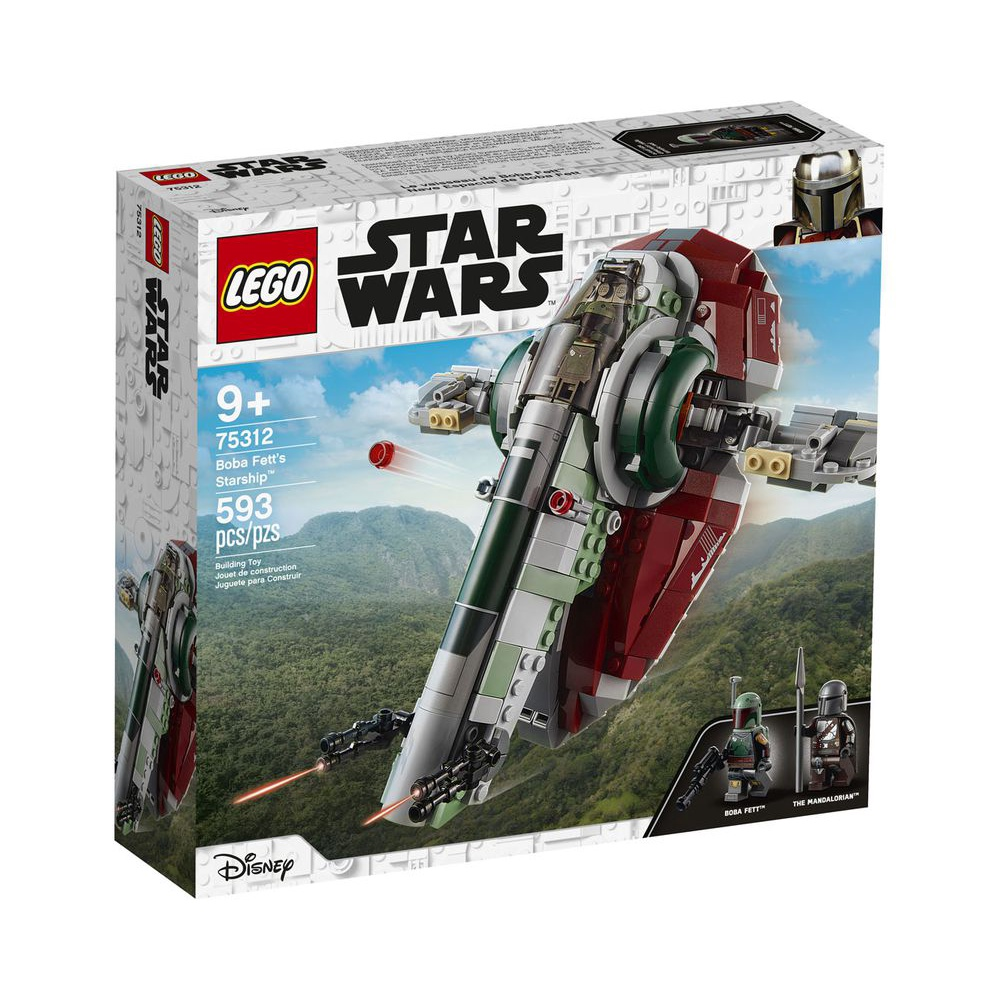 【積木樂園】樂高 LEGO 75312 星際大戰系列 Boba Fett's Starship
