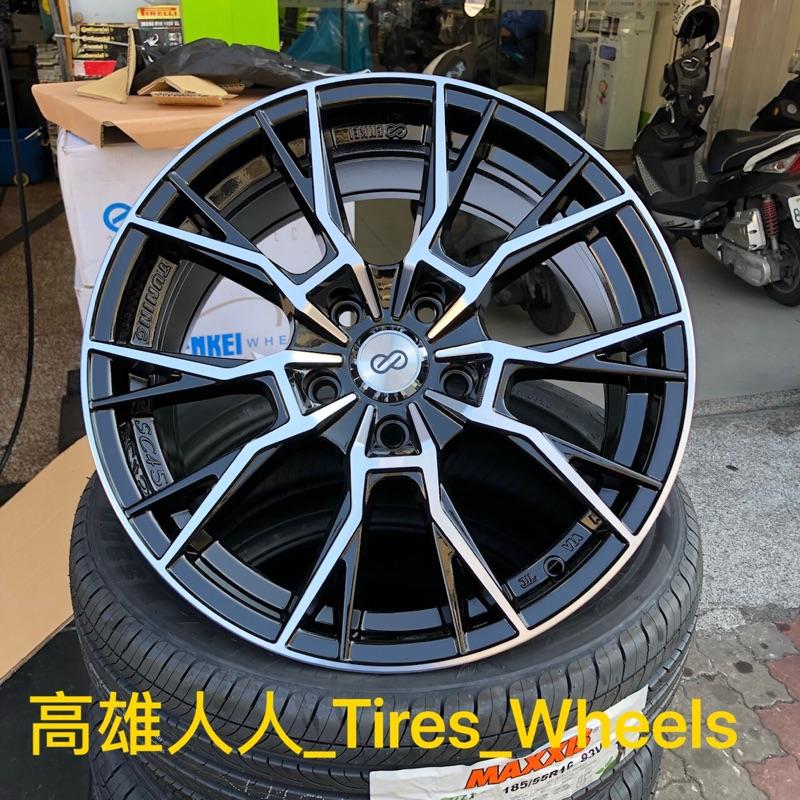 高雄人人輪胎 Enkei SC45 18吋 鋁圈 5孔 114.3 8J ET45 黑底車面