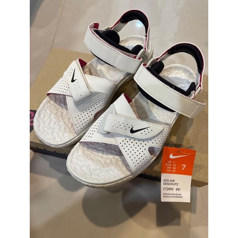 🌟全新_Nike ACG Air Deschutz 戶外機能運動涼鞋 OUTDOOR 白色