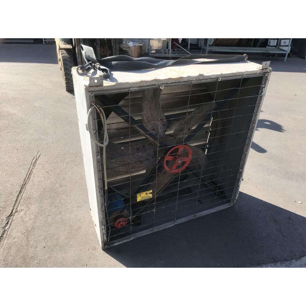 [龍宗清] 箱型排風扇(導流板) (18122202-0001) 42吋 箱型通風機 箱型排風機 工業抽風機 排風機 散