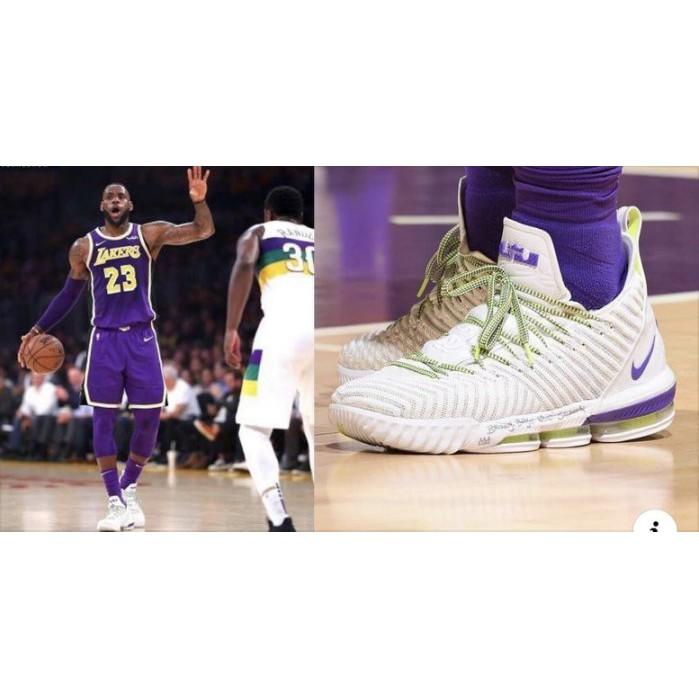 Nike LeBron 16 Buzz Lightyear 白綠 巴斯光年 AO2595-102