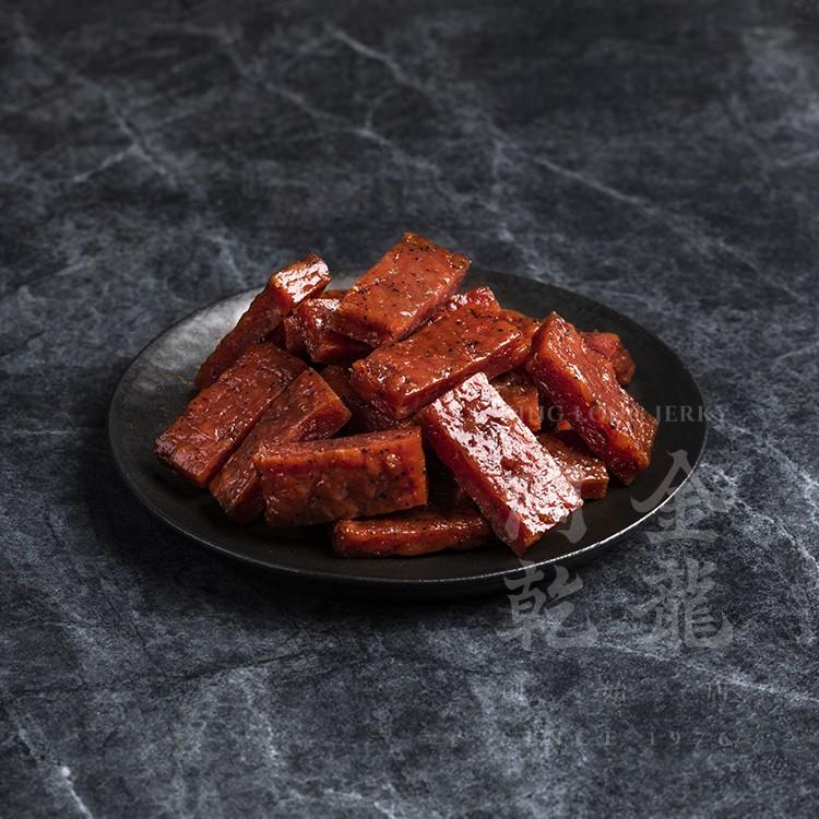 【金龍肉乾】 特厚厚切黑胡椒豬肉乾 150g 超值小資分享包