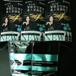 Dr's Formula台塑生醫 受損修護洗髮精12g+受損修護潤絲乳10g(10元) 台北市