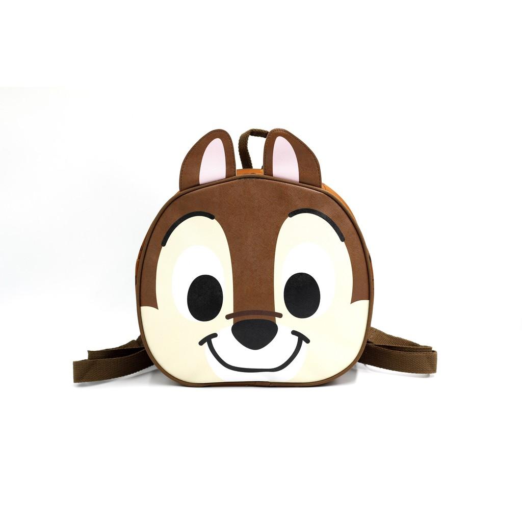 【Disney迪士尼】正版造型後背包-奇奇