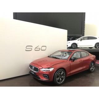 【E.M.C】1:18 1/ 18 原廠 Volvo S60 S60L T5 2019 金屬模型車 台南市
