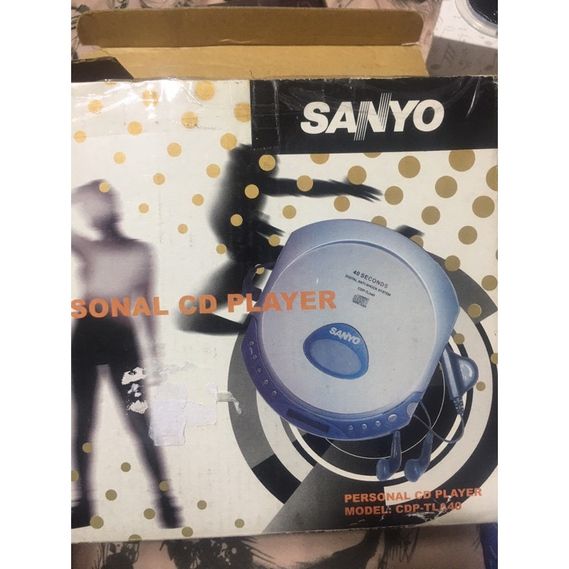 懷舊 早期 Sanyo 三洋 cd 隨身聽