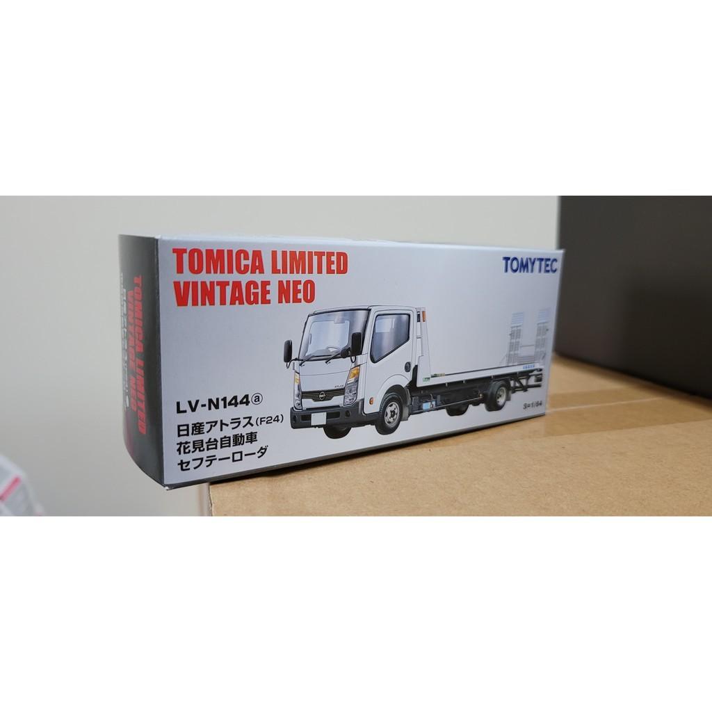 (現貨) Tomica TLV-n144a 白色 限量釋出 花見台 tlv-144a