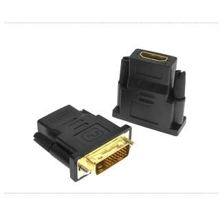 DVI轉HDMI轉接頭電腦Dvi公24+1轉Hdmi母1080P高清線轉換頭 桃園市