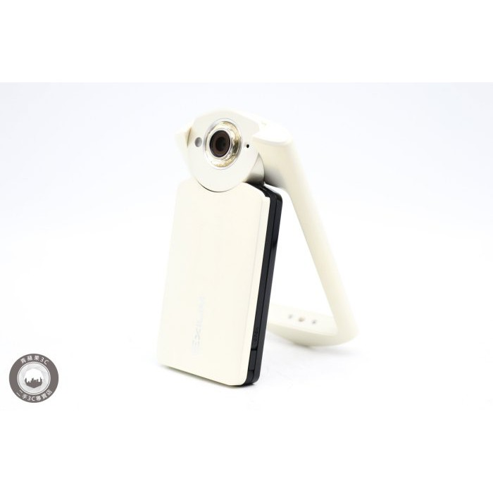 【高雄青蘋果3C】Casio TR60 TR-60 TR60 白 二手 自拍神器 #31162