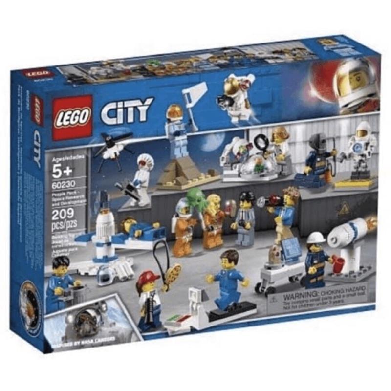 """  高雄 宅媽 樂高 積木  LEGO """"60230""""人偶套裝-太空研究與開發"""