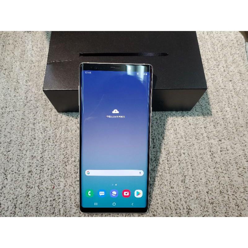 三星 Note 9 二手手機 白色 128G 盒裝