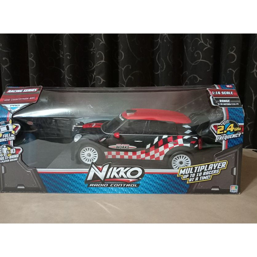 NIKKO 遙控車 遙控跑車 Mini Cooper 1:16 模型車 模型遙控車