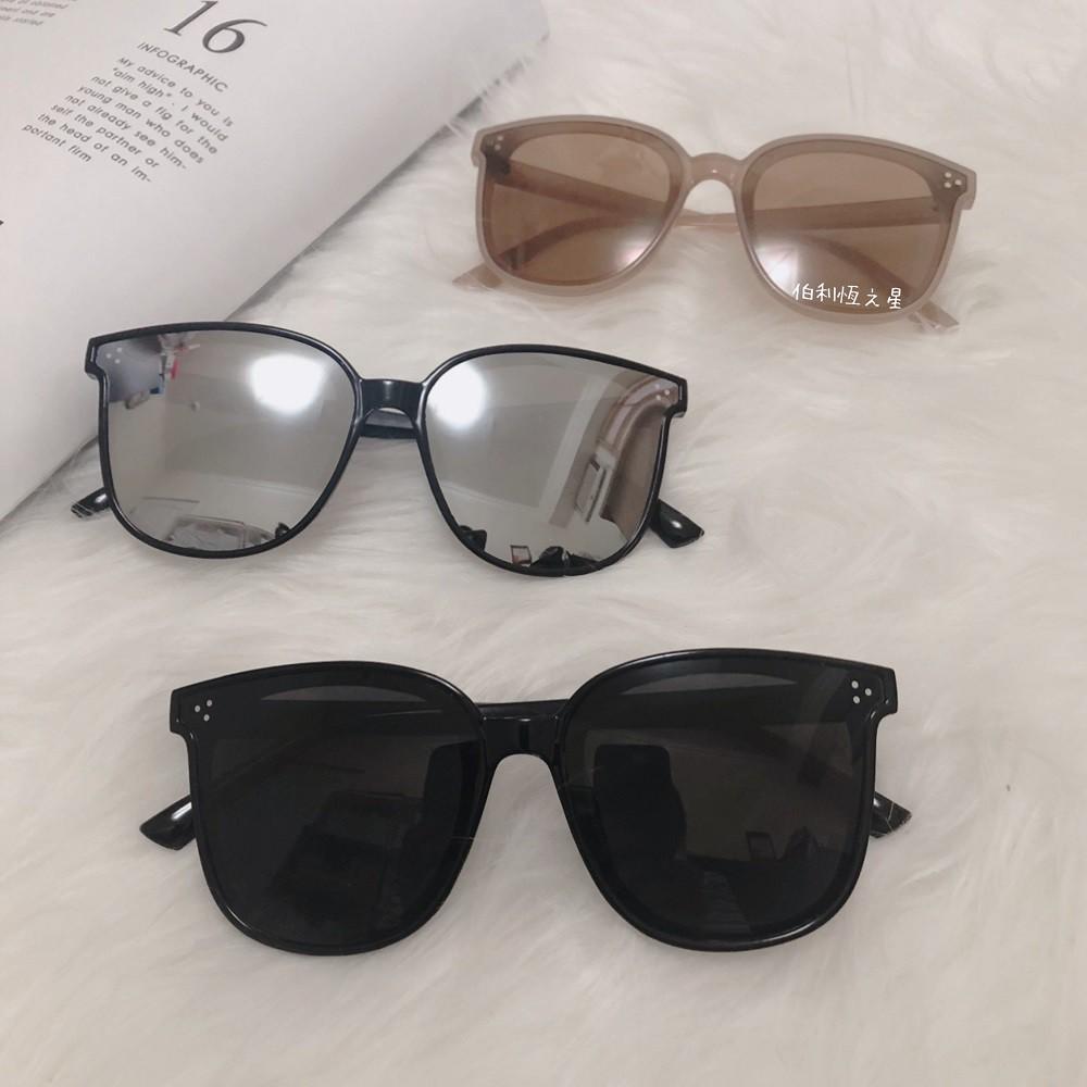 【B177】偏光墨鏡 周杰倫 修杰楷 全智賢 韓星 同款 抗UV400 檢驗合格 明星款 復古 大方框 太陽眼鏡