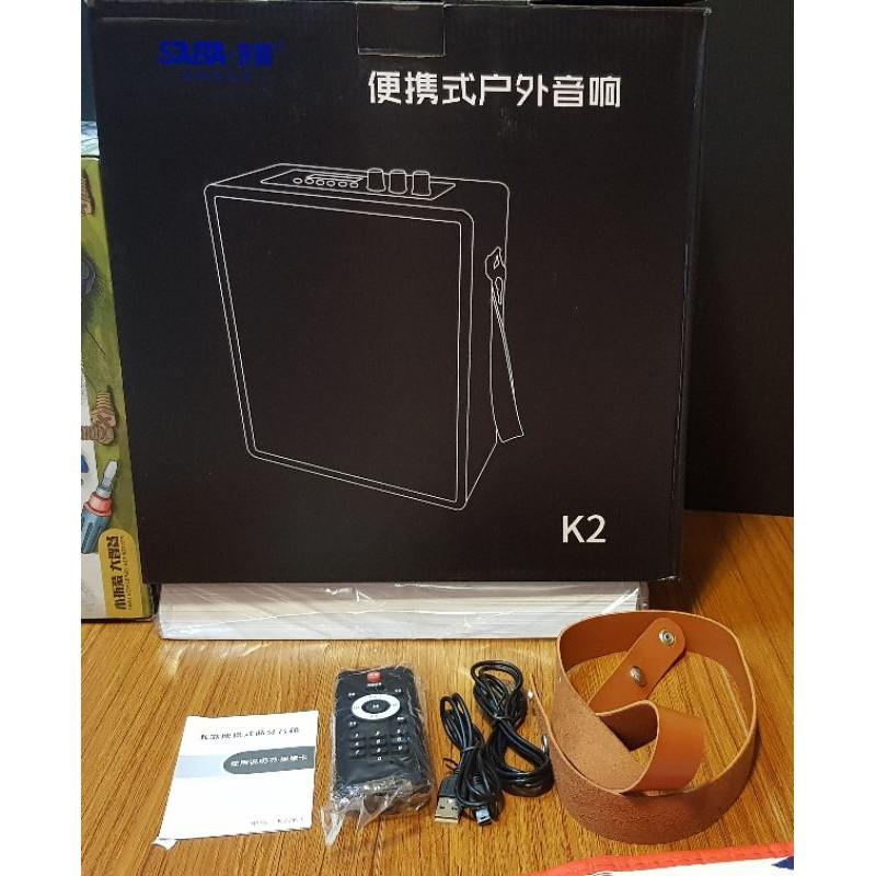 【24小時必回覆】SABA先霸 便攜式戶外音響 喇叭 K2 6.5吋 藍芽 藍牙 超大聲