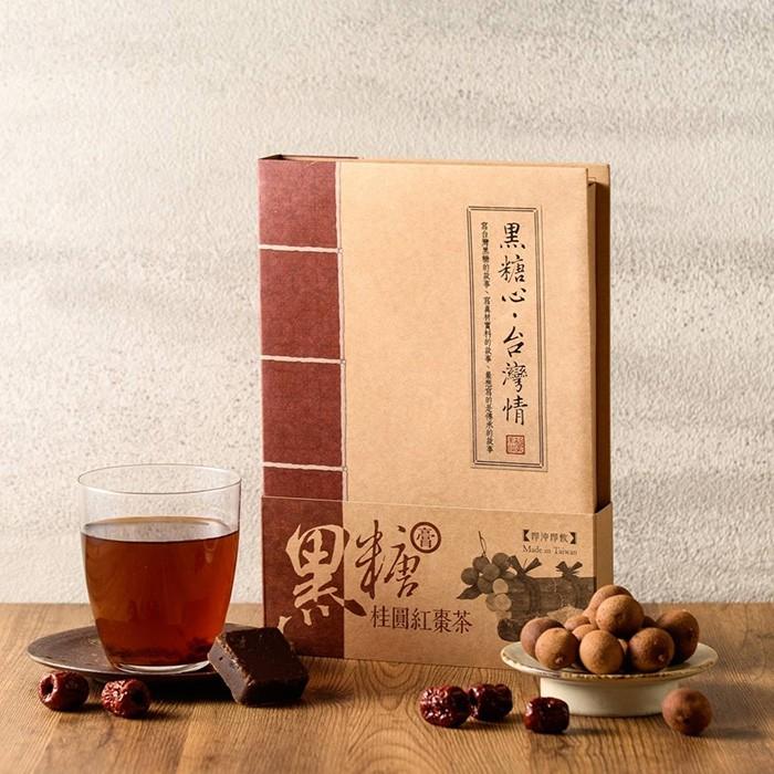 黑糖桂圓紅棗茶糖膏 (44mlx16入) - 釀美舖