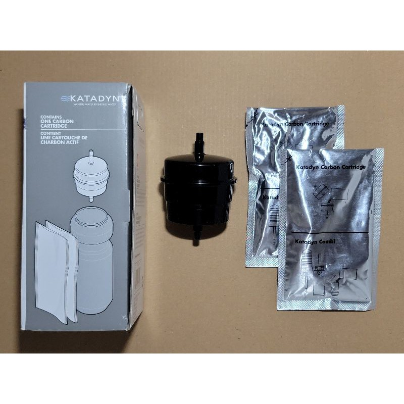 Katadyn Carbon Cartridge Bottle Adapter 活性炭 過濾座