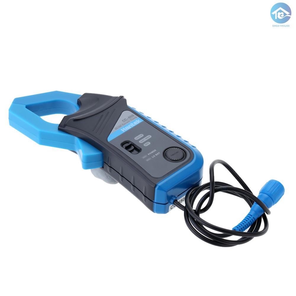 漢泰CC-650 交/直流電流鉗BNC接頭400Hz帶寬20mA-650A 不帶電池出貨