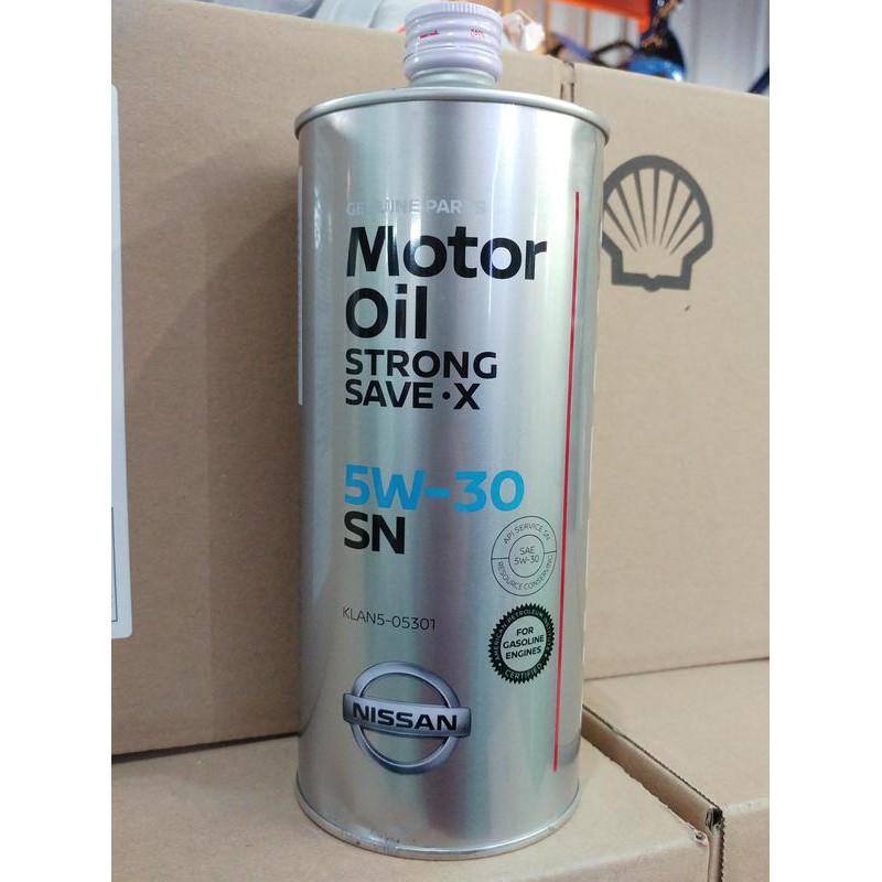 『油工廠』NISSAN 日本原裝 日產 原廠 節能機油 SN級 5W30 5W-30 1L 裕隆