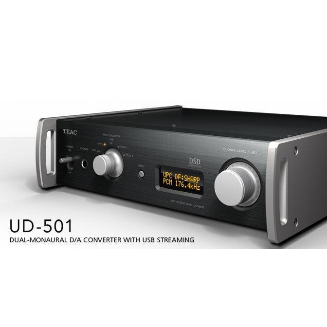 日本 TEAC UD-501 耳機擴大機 二手