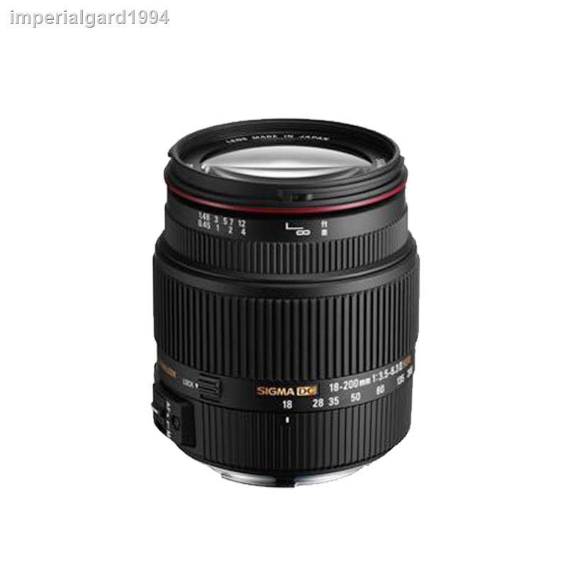 【現貨】Sigma18 200 18-200mmf/3.5-6.3一代紅圈Canon Nikon單反變焦鏡頭 (二手)