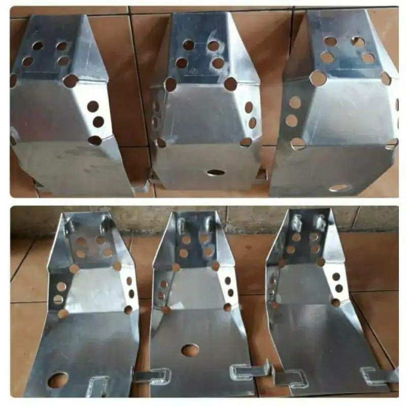 crf150 鋁合金板引擎護板