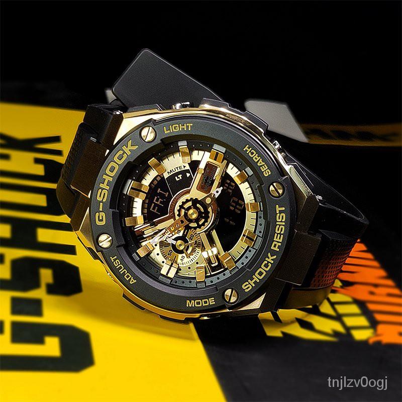 CASIO卡西歐G-SHOCK鋼鐵之心男手錶GST-410-1A/400G-1A9/S100G-1B 0HEl