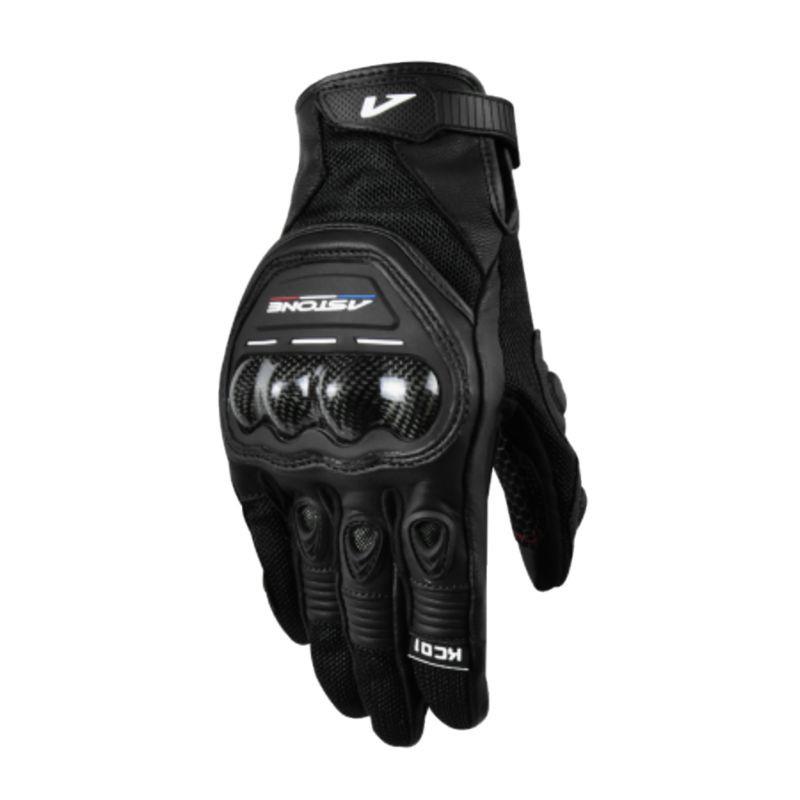 Astone 觸控透氣防摔手套 KC01 黑 防摔手套 可觸控 透氣 夏季手套《比帽王》