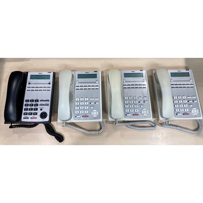 NEC SL1000總機螢幕話機IP4WW-12TXH-A-TEL