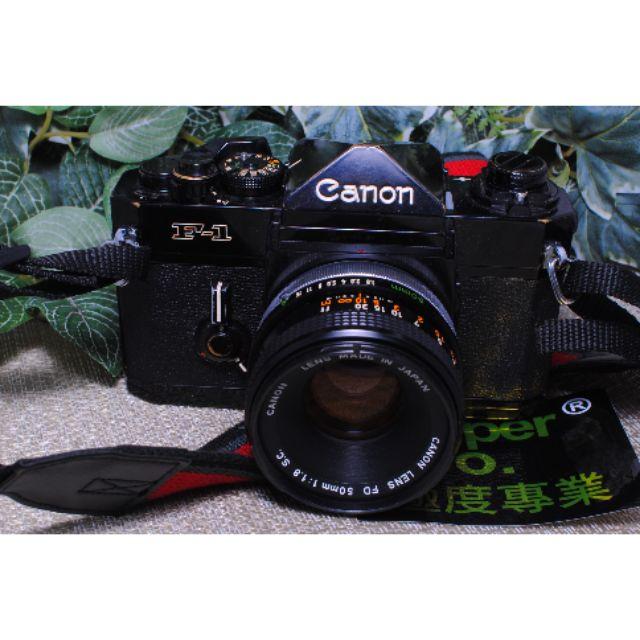 Canon F-1 + FD 50mm f1.8 一機一鏡