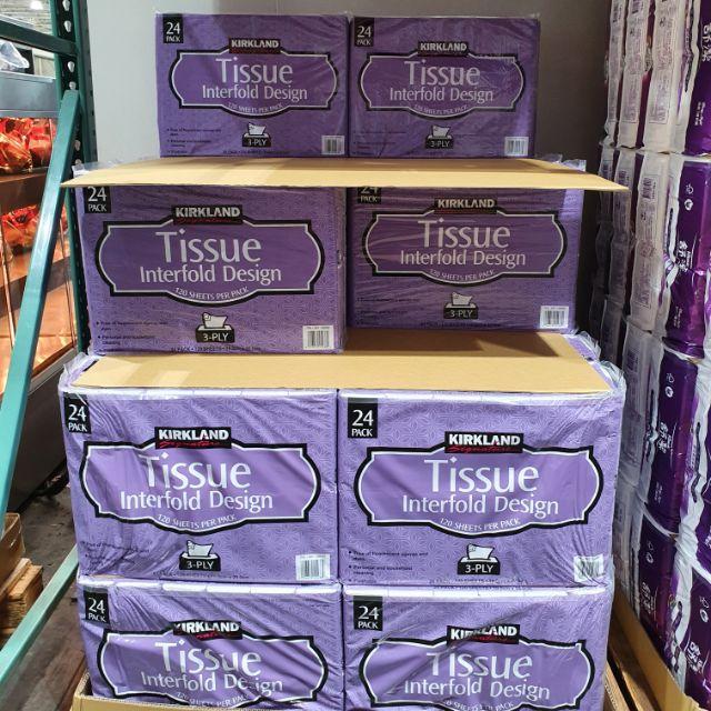 [MUBER免運] 每包15 Costco三層抽取衛生紙 72包 科克蘭