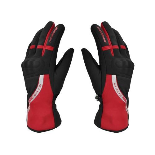 M2R G19 黑紅 潛水布 手套 防水 透氣 防風 防寒 保暖鎖溫 觸控 隱藏式護塊 手套《比帽王》