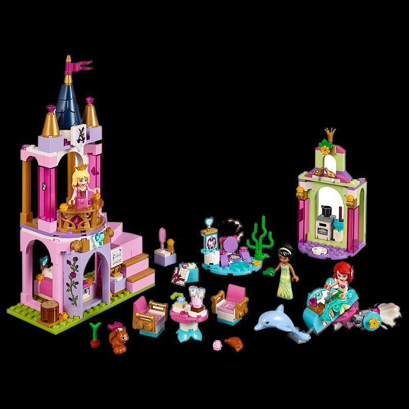 LEGO樂高41162公主的皇家慶典女孩子5歲益智拼裝玩具禮物城堡系列