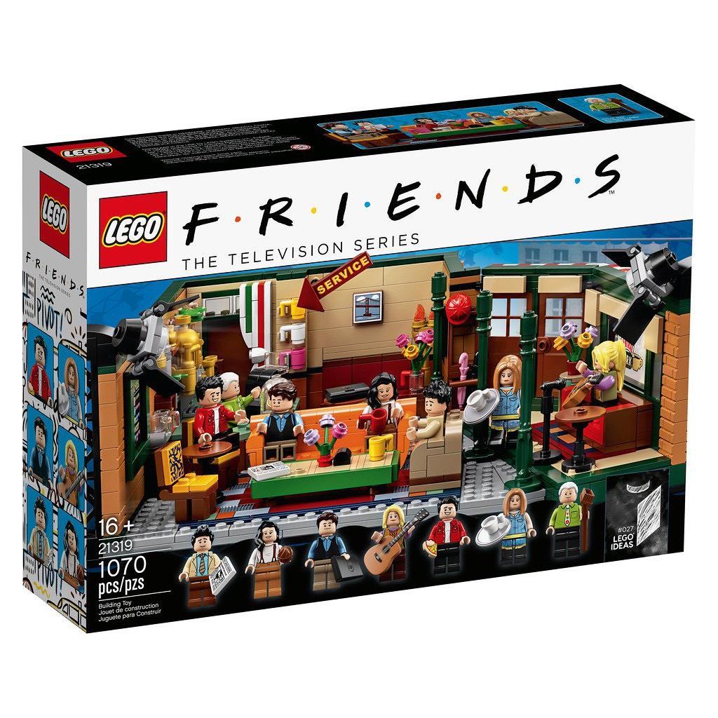 樂高 LEGO 21319 IDEAS- Central perk  中央公園咖啡館