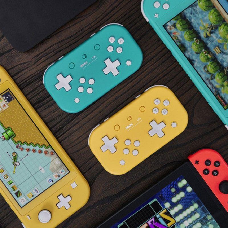 8Bitdo八位堂Switch無線藍牙手柄PC電腦動森手柄限定迷你NS便攜小Zero2遊戲動物森林Lite任天堂國產之森