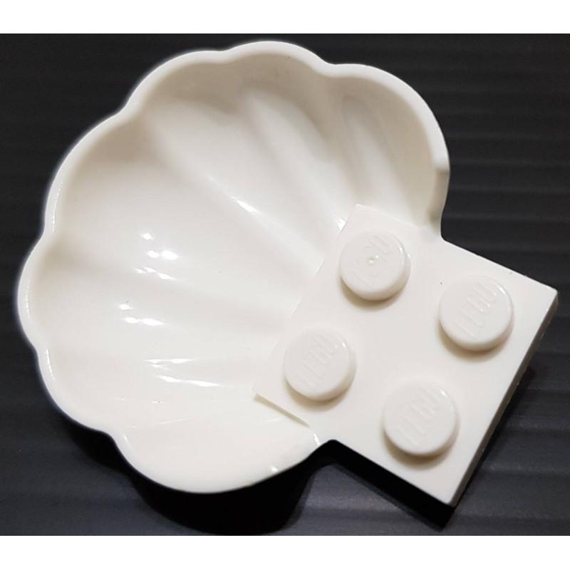 樂高 18970 41162 41375 白色 貝 貝殼 配件