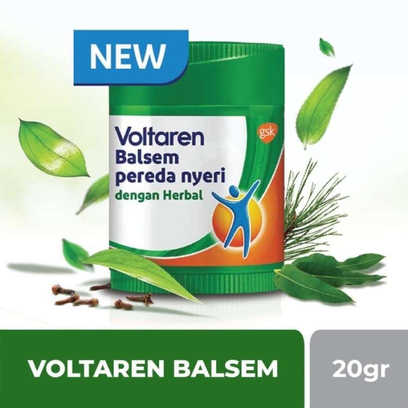 Voltaren Balsem Pereda Nyeri dengan Herbal 20g